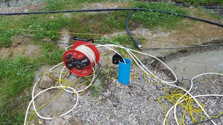 Masurare nivel apa in put forat