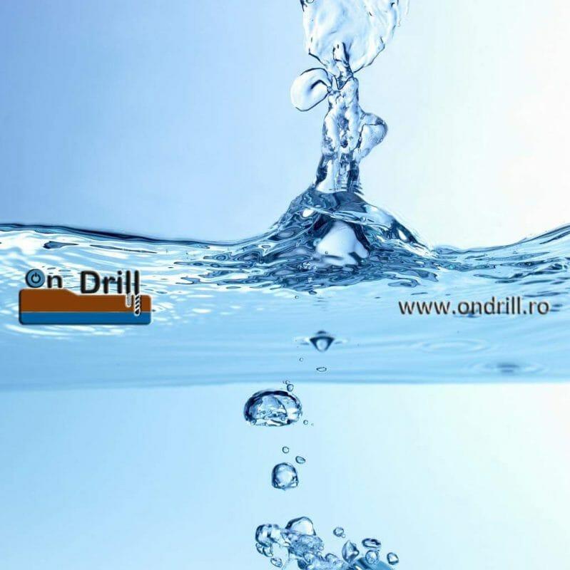 Apa din foraje OnDrill