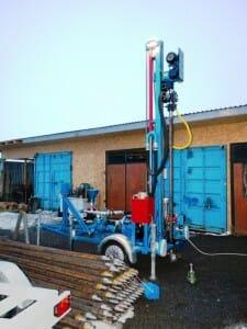 instalatie de foraj hidraulica electrica noua Romania