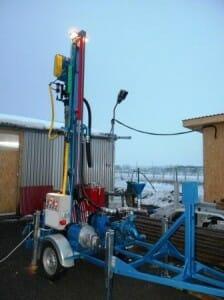 instalatie hidraulica de foraj