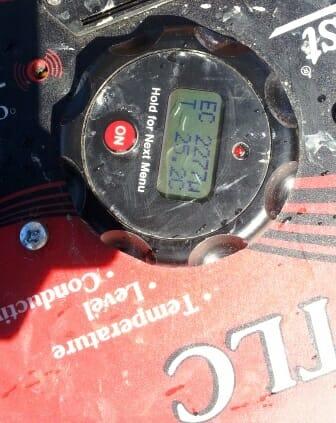 Instrument masurare nivel apa, temperatura si rezistivitate in puturi forate.