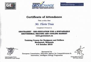 Diploma geotrainet